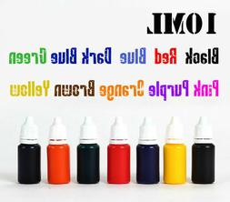 10ml refill ink 10 color choice for pre ink self inking flas