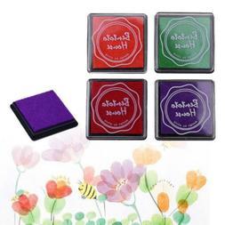 20 Colors/Box DIY Oil Based Ink Pad Print Rubber Stamp Paper