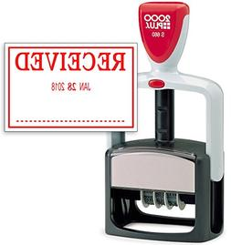 2000 Plus Heavy Duty Style Date Stamp with Received self Ink