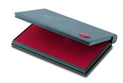 "2000 PLUS Stamp Pad, Felt, Size No.2, 6-1/4"" X 3-1/2"", Red I"