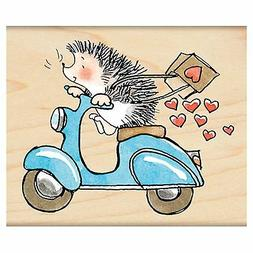 Penny Black 4299J Wood Mounted Rubber Stamp, Sweet Ride