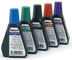 5 color water based Re-fill Ink for self inking Ideal/Trodat
