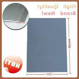 2 Pcs A4 Gray Rubber Sheet 1.5mm Sign-making Laser Cutting Engraving Stamps New
