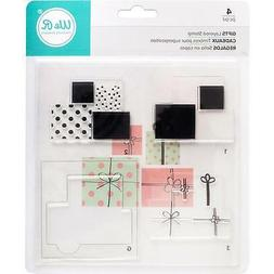American Crafts R Memory Keepers CMYK Layered Stamp Set Gift
