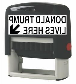 Custom Self Inking Rubber Stamp Traxx 9011 3 Line Return Add
