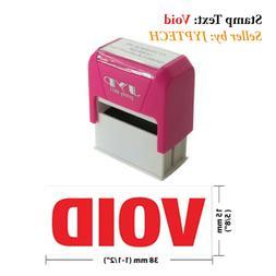 """Void-JYP 4911R Self Inking Rubber Stamp - 5/8"""" x 1-/2"""""""