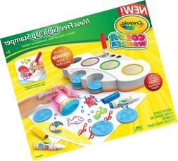 Crayola Color Wonder Mess Free Light-Up Stamper, Gift for Ki