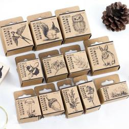 animal stamp wooden rubber stamps for scrapbooking