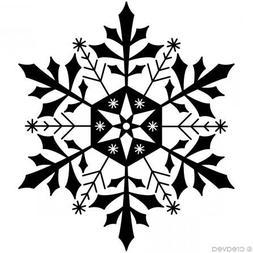 Artemio ARTHF689 Wooden Stamp F Snowflake