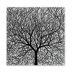 "Hero Arts ""BARE BRANCHED TREE"" Background Cling Bold Prints"