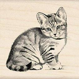 cat kitten rubber stamp 60 00210 2