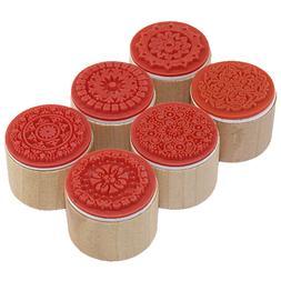 CCINEE 6PCS One Lot 3cmx3cmx2.5cm Wish <font><b>Stamp</b></f