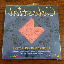 Inkadinkado Celestial Rubber Stamp Collection Kit - Stamps,