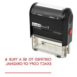 CERTIFIED TO BE A TRUE & EXACT COPY OF ORIGINAL Self Inking