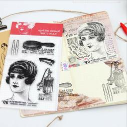 Character Clear Rubber Stamps Scrapbook Paper Craft Clear st