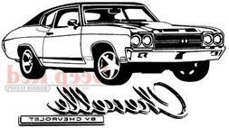 Deep Red Stamps Chevelle Rubber Cling Stamp