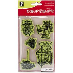 christmas cling stamps sheet