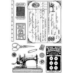 Crafty Individuals CI-328 Unmounted Rubber Stamp, Sewing Not