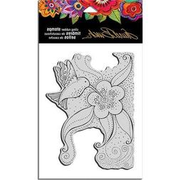 "Stampendous Clear Cling Stamp by artist Laurel Burch  ""Hummi"