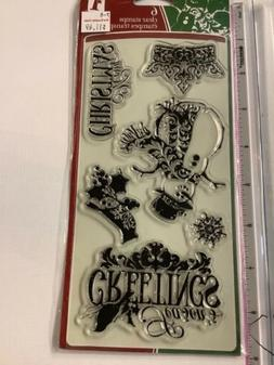 Inkadinkado Clear Stamp Assortment Card Making