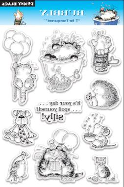 Penny Black Clear Stamp Set, Bubbly