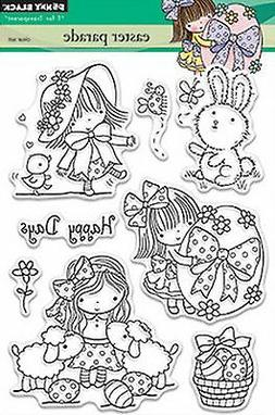 Penny Black Clear Stamps 5X7-Easter Parade