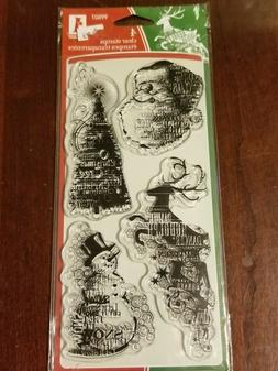 Inkadinkado Clear Stamps - Holiday Sentiments  NEW