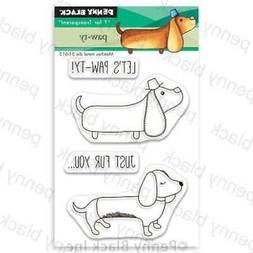 Penny Black Clear Stamps Paw-Ty 759668306763