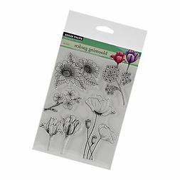 Penny Black Clear Stamps 5X6.5 Sheet-Blooming Garden