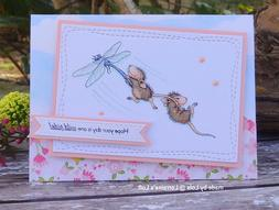 Stampendous cling mounted rubber stamp - HOUSE MOUSE - DRAGO