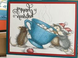 Stampendous cling mounted rubber stamp - HOUSE MOUSE - SHARI