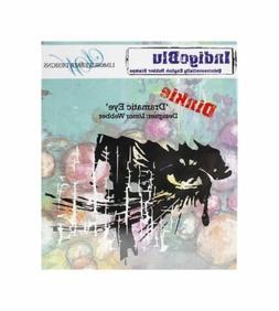 Indigoblu Cling Mounted Stamp -Dramatic Eye - Dinkie