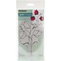 Penny Black Cling Rubber Stamp 4-inch x 7.5-inch Sheet-Demur