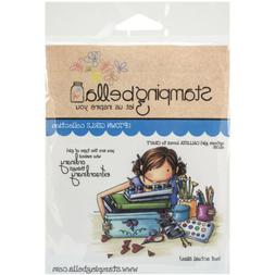 "Stamping Bella Cling Rubber Stamp 3.75""X5""-Uptown Girl Calli"
