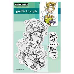 Penny Black Cling Stamp 5X7-Little Gini