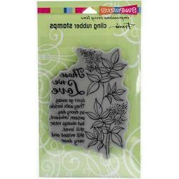 """Stampendous Cling Stamps 7.75""""X4.5"""" Those We Love 7440192203"""