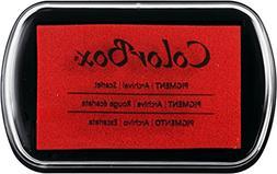ColorBox Pigment Inkpad-Scarlet