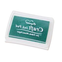 Colorful Craft Ink Pad Stamps Rubber Stamp Pad DIY Scrapbook