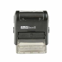 ExcelMark CONFIDENTIAL Self Inking Rubber Stamp - Red Ink  -
