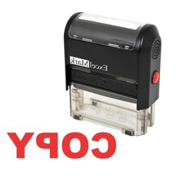 ExcelMark A1539 COPY Self-Inking Stamp with Reversible Pad