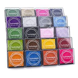 Craft Finger Ink Pad 20 Colors, Craft Ink Pad Stamps Partner