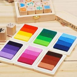 Craft Oil Ink Pad Rubber Stamps Gradient Color Based Scrapbo