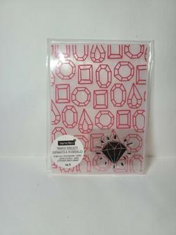 CRAFT SMART RUBBER STAMP Jewelry EMBOSSING FOLDER  D-4236