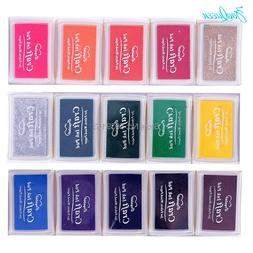 Creative DIY BIG Ink pad 21 colors Set In <font><b>Rubber</b