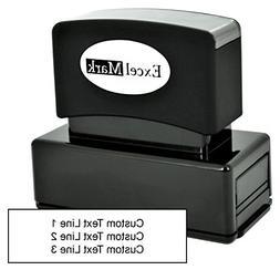 Custom Pre Inked Stamp – ExcelMark