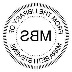 ExcelMark Custom Library Book Embosser - Round