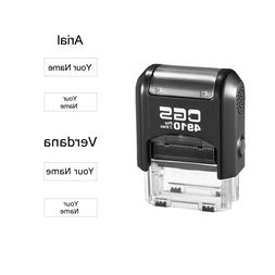 CGS Custom Name Rubber Stamp Self Inking Personalized Signat