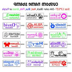 Custom Name Stamps Return Address Rubber Stamper Business Ha