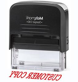 Large Custom Return Address Stamp with Dual Pads - Includes