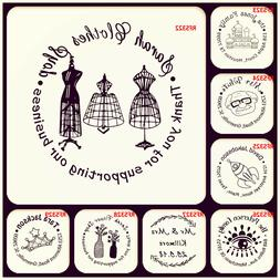 Custom Rubber Stamp Made Name Wedding Business LOGO Personal